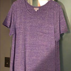 LuLaRoe Purple Carly Large